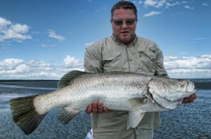 Jeff with another good fish at 87cm