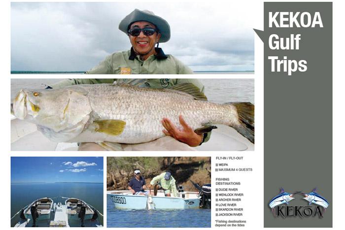 Gulf trips on KEKOA
