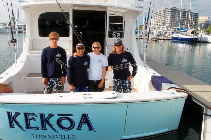 Team Kekoa chasing giant black marlin